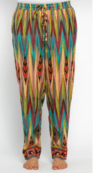 Chilli Cotton Pants Inca Print
