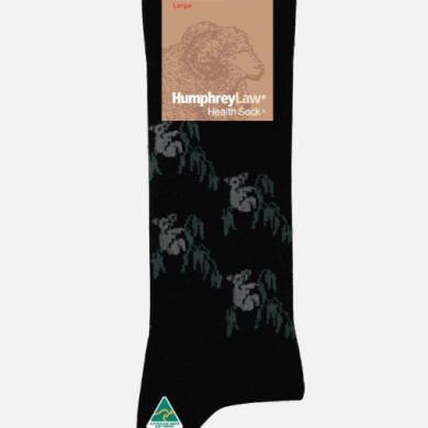 Humphrey Law Wool Koala Pattern Sock