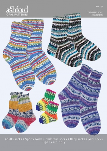 Opal The Great Sock Collection Pattern