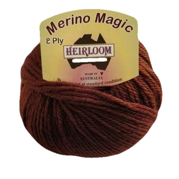 Heirloom Merino Magic 8 Ply - Oak 211