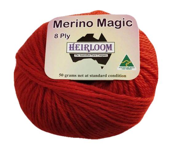 Heirloom Merino Magic 8 Ply - Marmalade