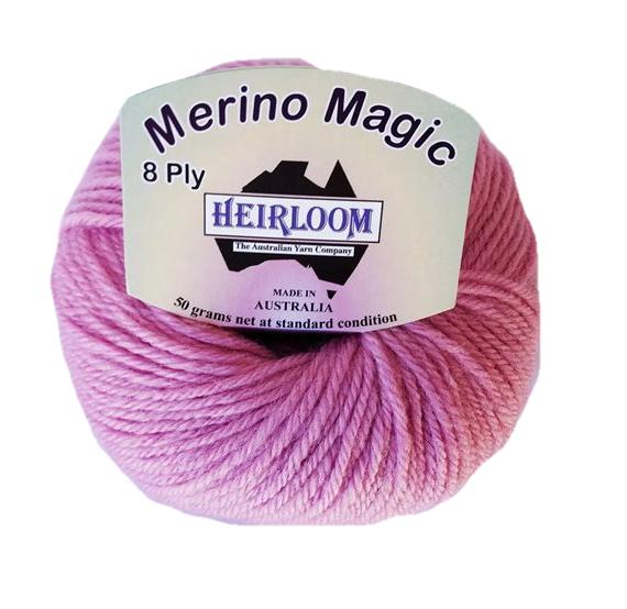 Heirloom Merino Magic 8 Ply - Musk