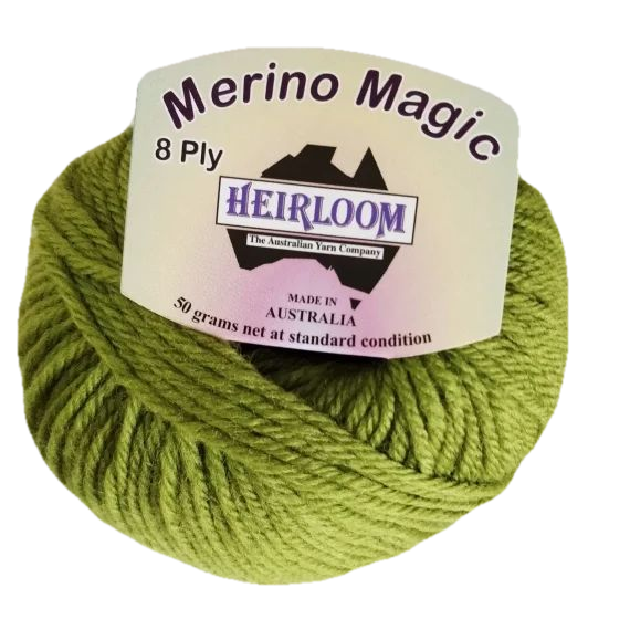 Heirloom Merino Magic 8 Ply - Guava