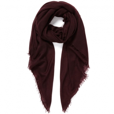 Wool Wrap Burgundy