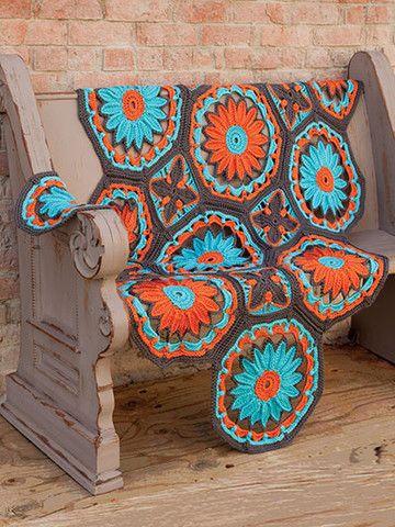 Hooked On Crochet Afghans