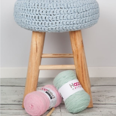 Hoooked Crochet Stool Ribbon XL Pattern