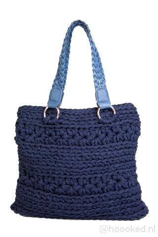 Hoooked San Marino Crochet Zpagetti Bag Pattern