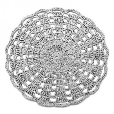 Hoooked Crochet Mandala Rug Pattern