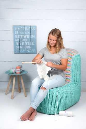 Hoooked Crochet Pattern XXL Lounge Chair Zpagetti