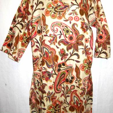 Paisley Cotton Tunic
