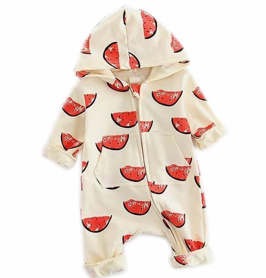 Watermelon Print Jumpsuit