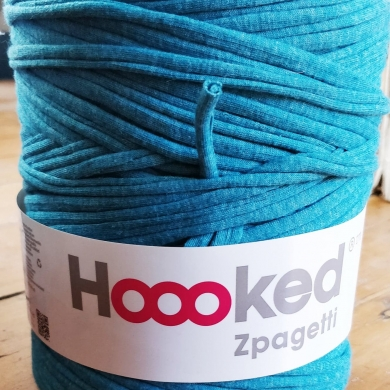 Hoooked Zpagetti Cotton T-shirt Yarn 800g- Caribbean Laguna