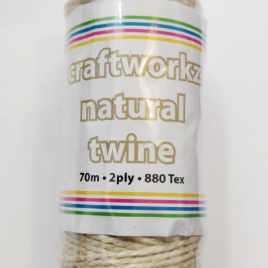 Natural Jute Twine 2 ply