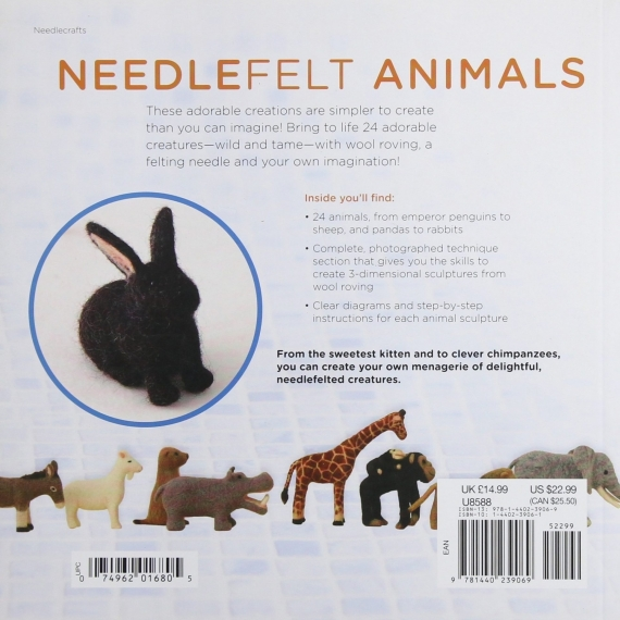 Wild & Tame Needlefelt Animals