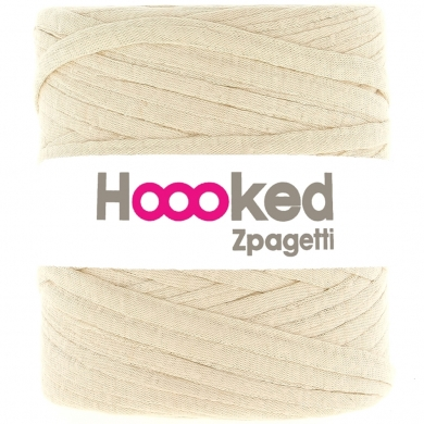 Hoooked Zpagetti Cotton T-shirt Yarn 800g- Beige
