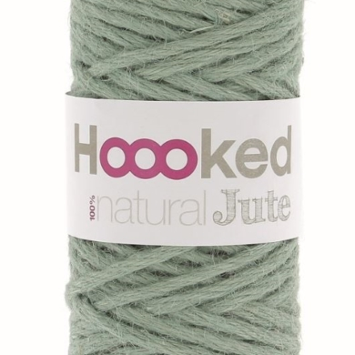 Hoooked Natural Jute 350g - Serenity Mint