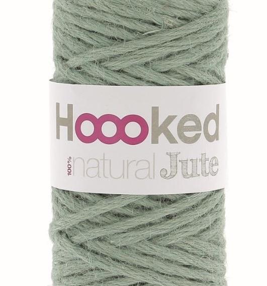 Hoooked Natural Jute 350g - Serenity Mint