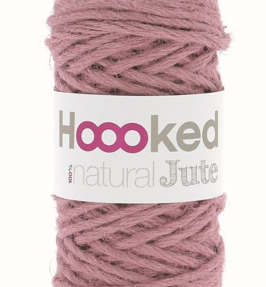 Hoooked Natural Jute 350g - Tea Rose