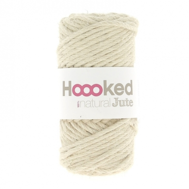 Hoooked Natural Jute 350g - Vanilla Cream