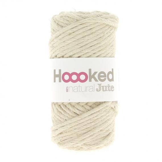Hoooked Natural Jute 350g - Vanilla Cream