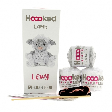 Hoooked Crochet Kit Lewy Lamb