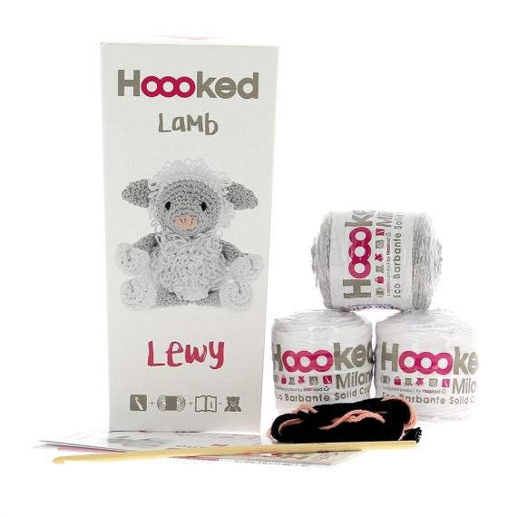 Hoooked Crochet Kit Lewy Lamb