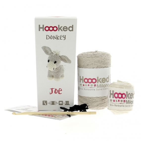 Hoooked Crochet Kit Joe Donkey