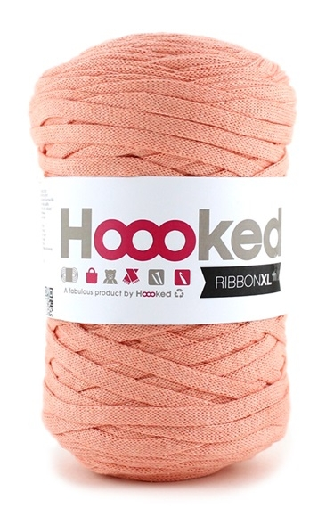 Hoooked Ribbon XL Iced Apricot 250g