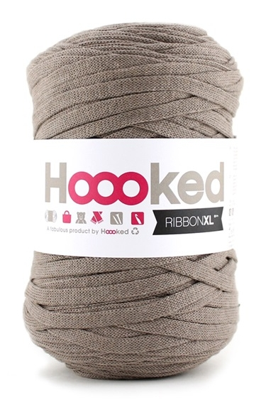 Hoooked Ribbon XL Earth Taupe 250g