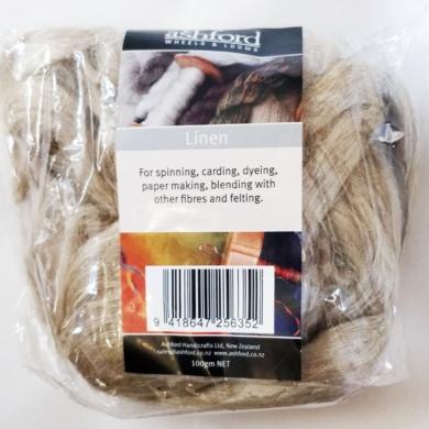 Flax Linen Roving 100g
