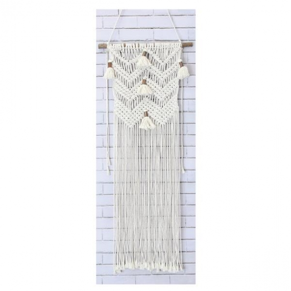 Macrame Wall Hanging Kit - Chevron & Tassels