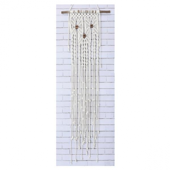 Macrame Wall Hanging Kit - Three Flowers
