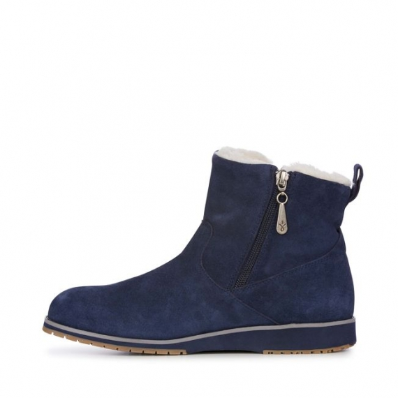 Emu Beach Mini Sheepskin Boots - Midnight