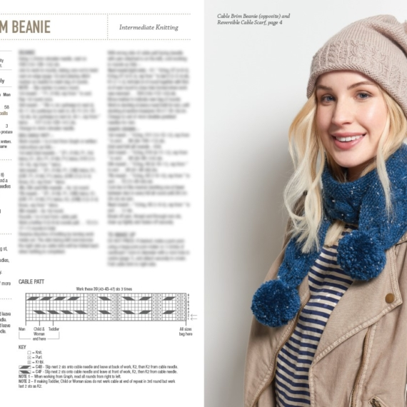 Modern Family Knits Pattern Book 363