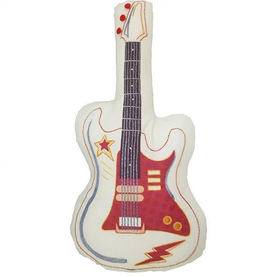 Stitch Me Guitar Kit Cushion Embroidery