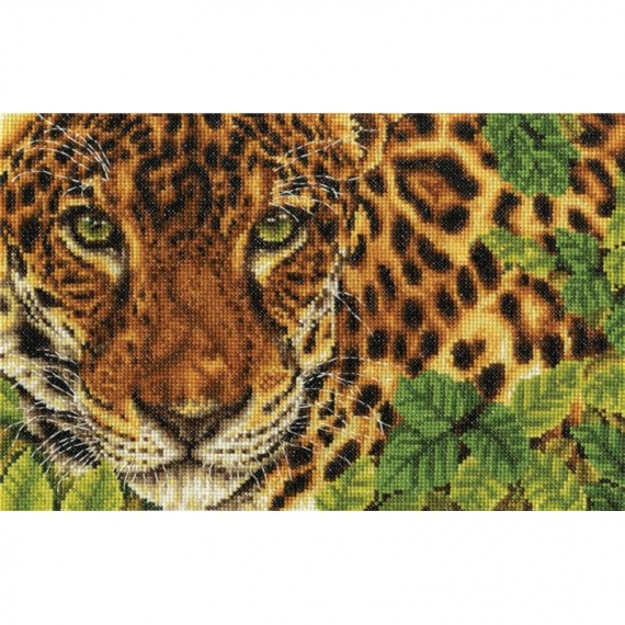 DMC Cross Stitch Kit Leopard - Out of Sight