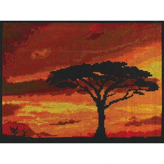 DMC Cross Stitch Kit - Savanah Sunset