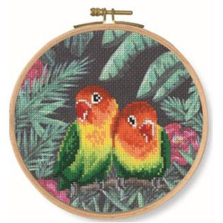 DMC Cross Stitch Kit - Love Birds