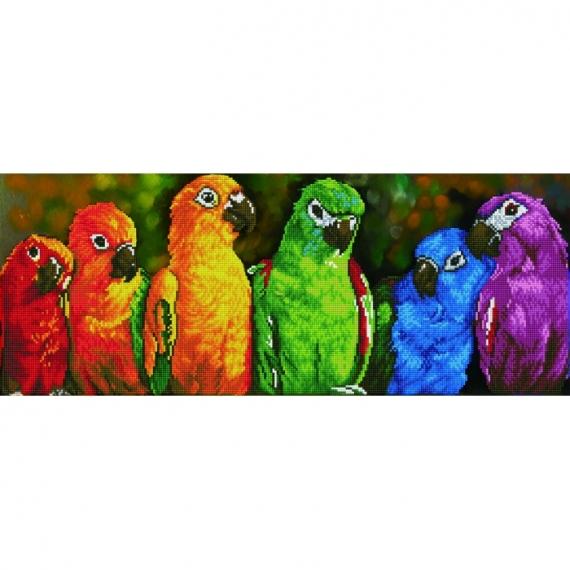 Diamond Dotz - Rainbow Parrots