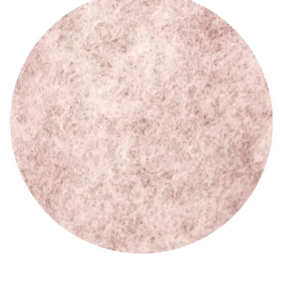 Merino Fleece Baby Blanket - Dusty Pink