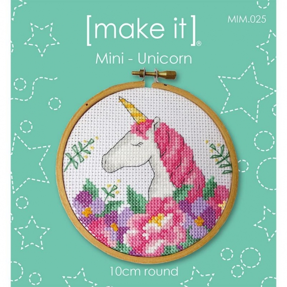 Make It Cross Stitch Kit Unicorn