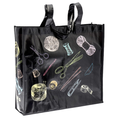Crafty Tote Bag - Chalkboard Yarn