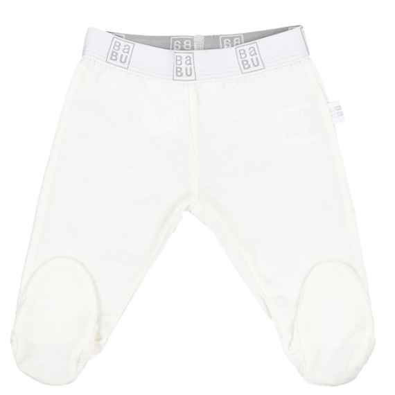 Merino Wool Baby Leggings With Feet