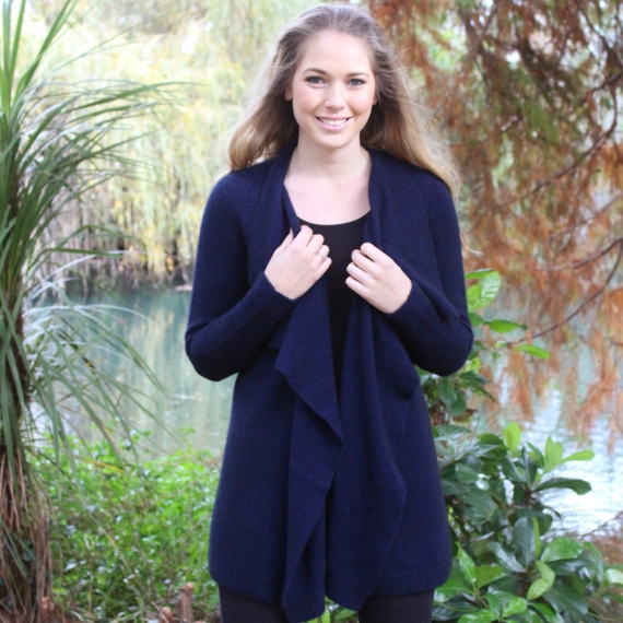 Lothlorian Possum Merino Waterfall Jacket