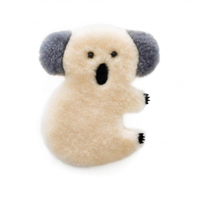 Sheepskin Koala Toy Large - Cream
