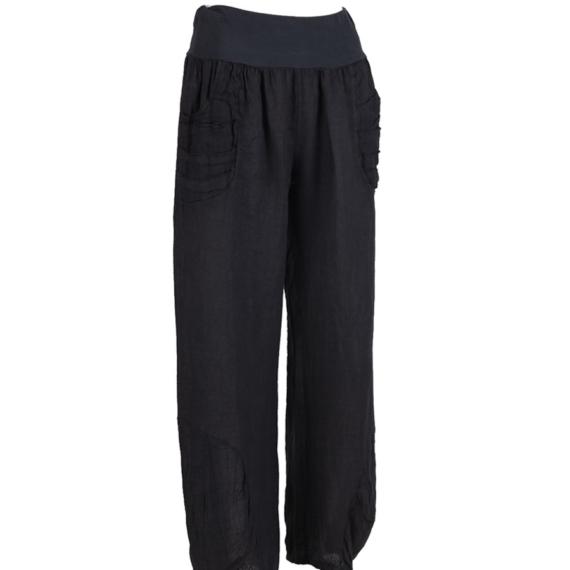 Linen Pants - Charcoal