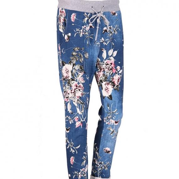 Cotton Floral Trouser