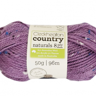 Cleckheaton Country Naturals 8 ply Wisteria 2012