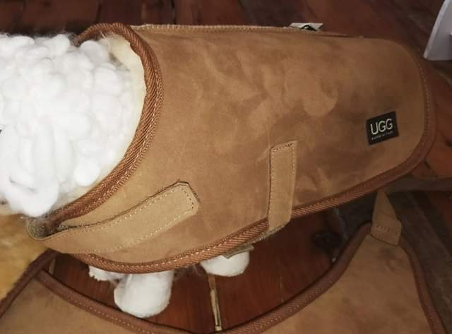 Sheepskin Dog Coat - Small