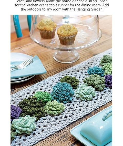 Make A Crochet Garden - Cactus & Succulents